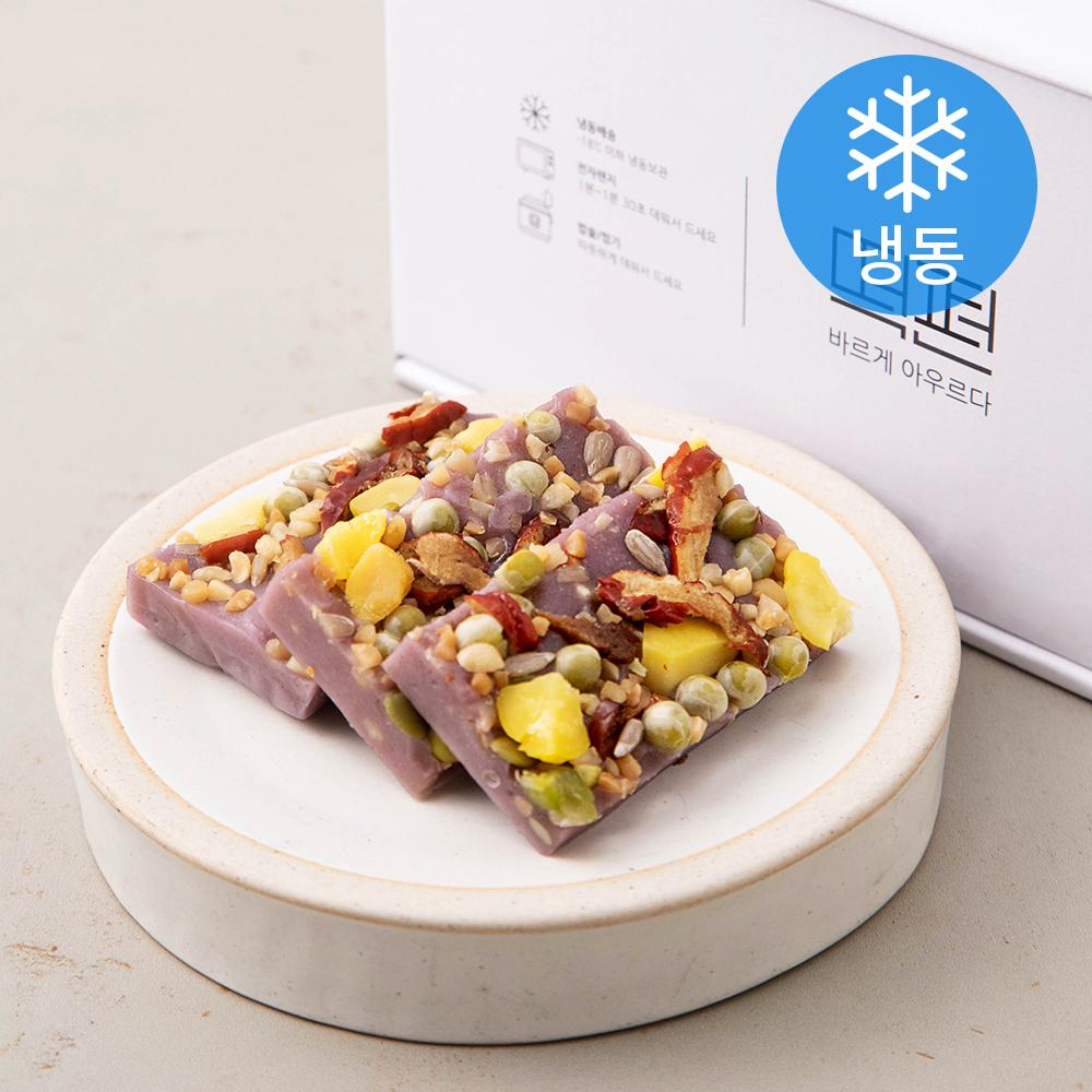떡편 블루베리영양찰떡 (냉동), 45g, 15개