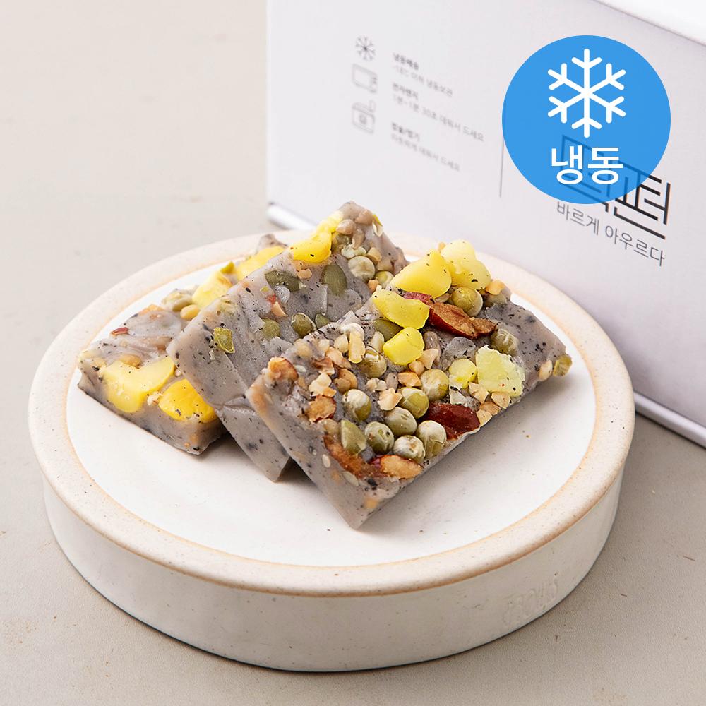 떡편 흑깨영양찰떡 (냉동), 45g, 15개