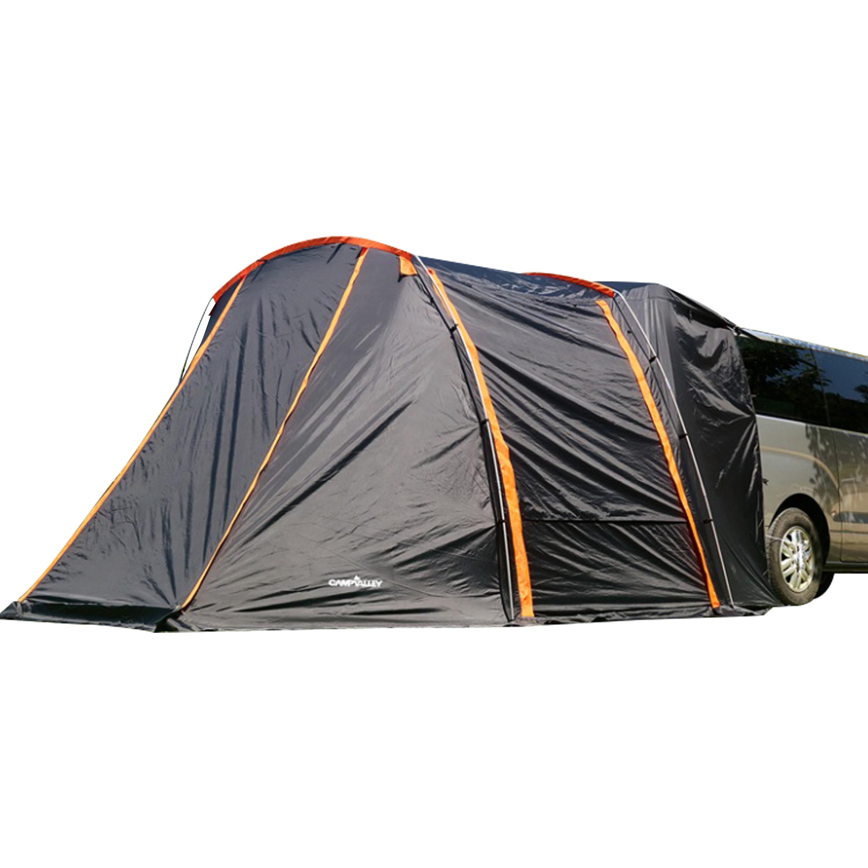 캠프밸리 카쉘터S 롱바디 차박 텐트, 블랙