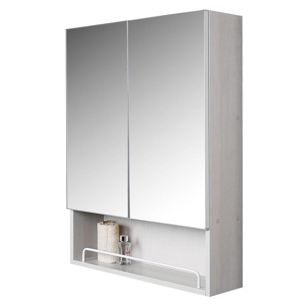 테바이노 고급형 전면거울 욕실수납장 TB-C6080, 화이트, 1개