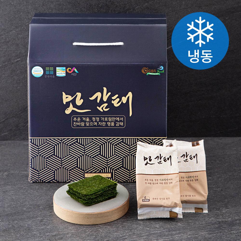 건푸드 도시락형 맛감태 (냉동), 4g, 18개