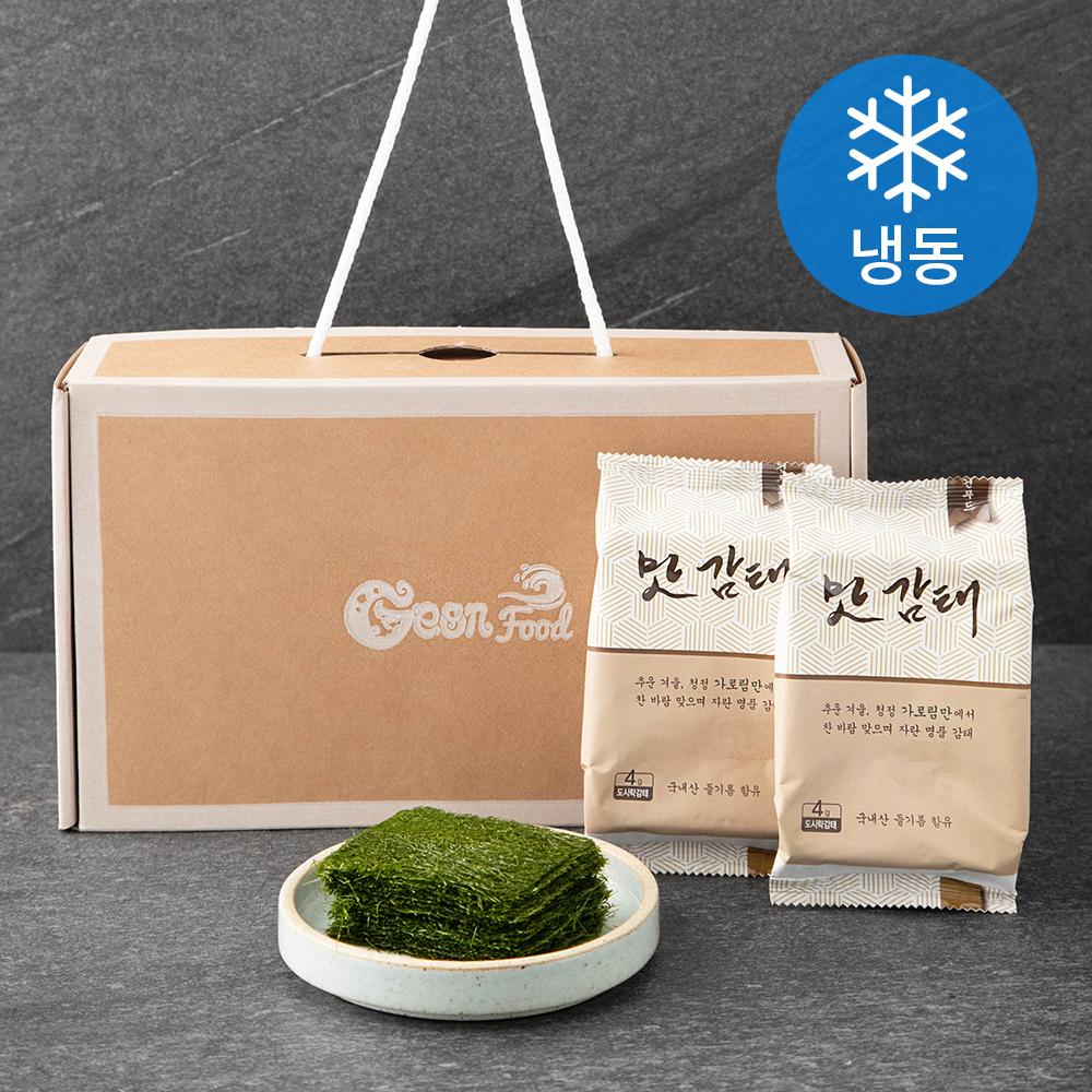 건푸드 도시락형 맛감태 (냉동), 4g, 6개