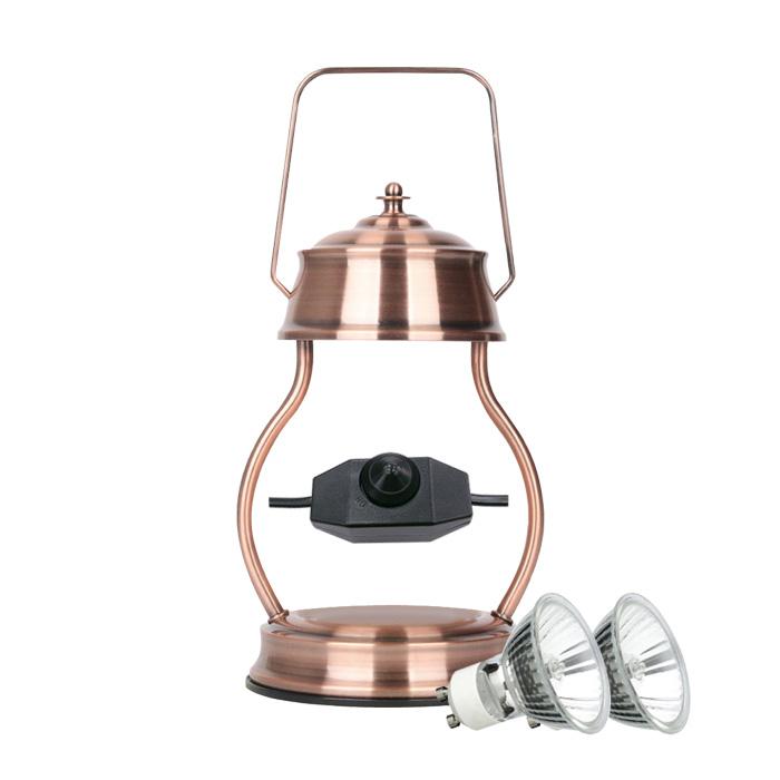 스텔라 빛조절 캔들 워머 + 전구2p 세트, 카퍼