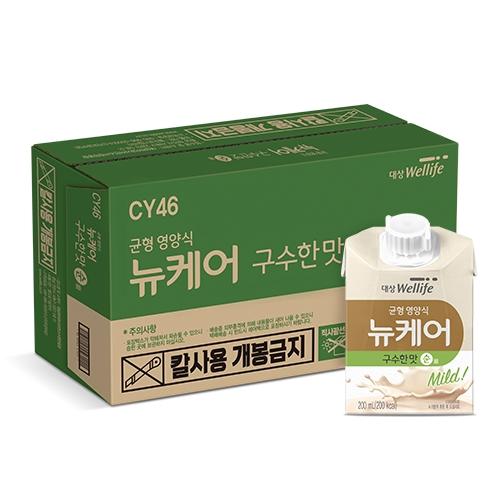 대상웰라이프 뉴케어 구수한맛 순, 200ml, 24개