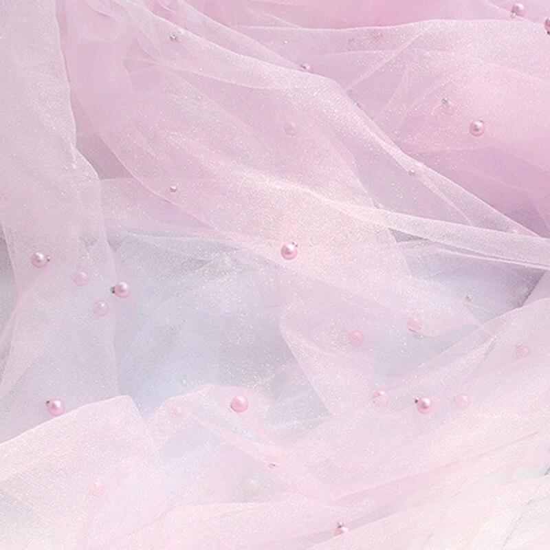 네일은재료빨 사진촬영 원단 배경, 진주 핑크, 1개