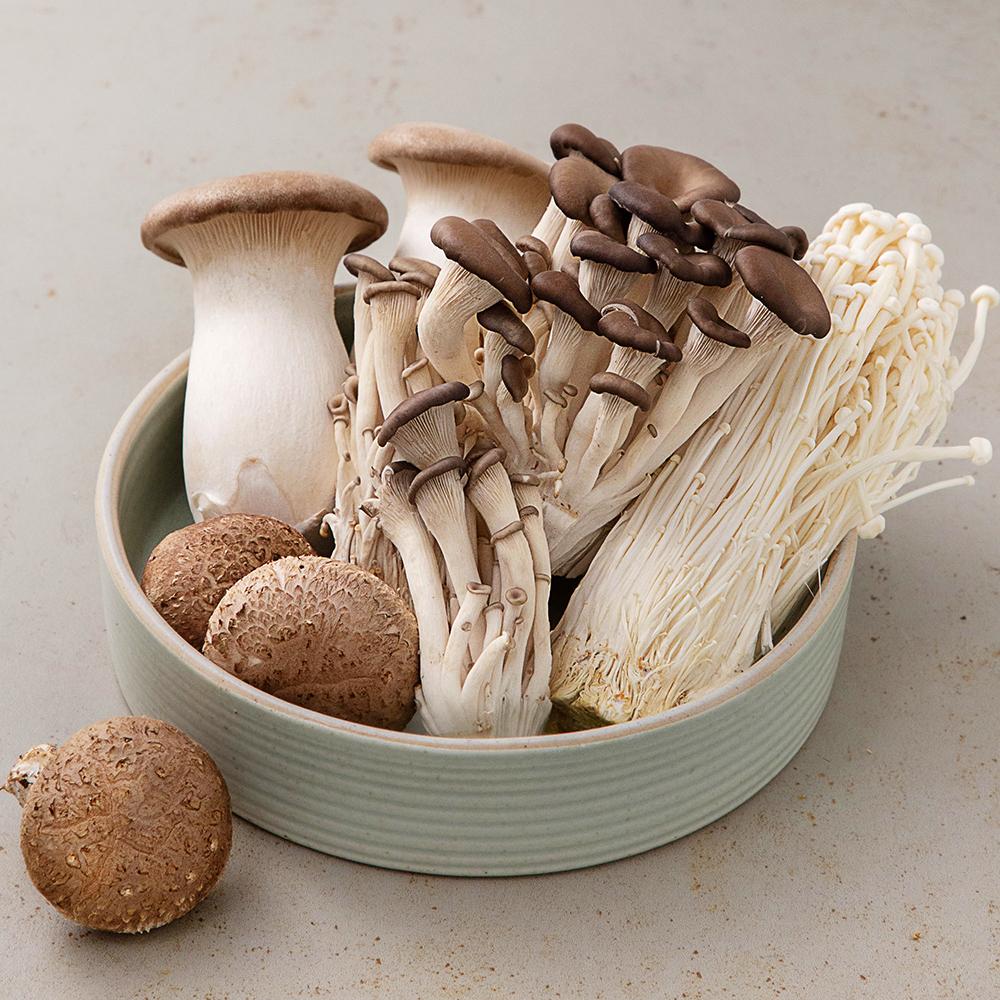샤브샤브 모듬버섯, 1팩
