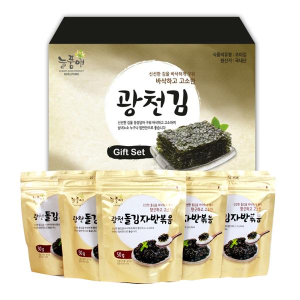 늘품애 광천 김자반 50g x 7p 선물세트, 1세트