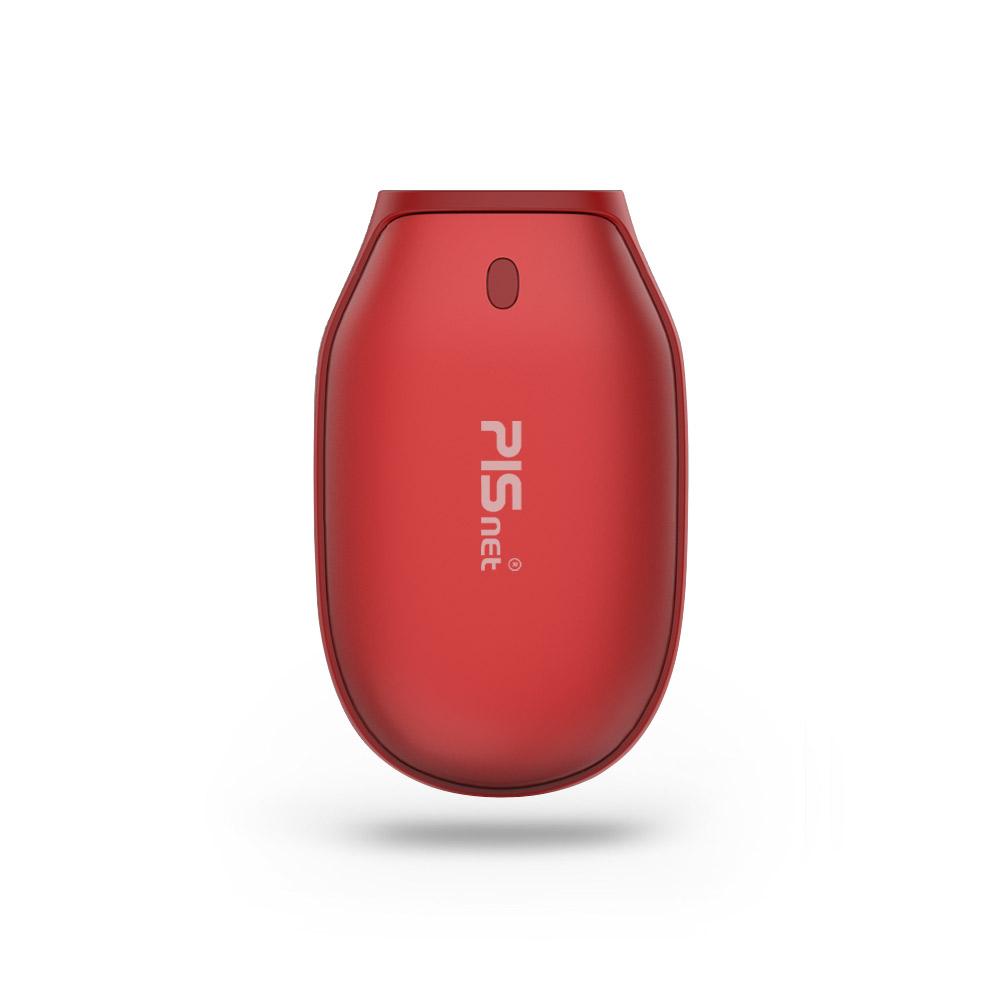 피스넷 보틀 보조배터리 손난로, 단일상품, Red