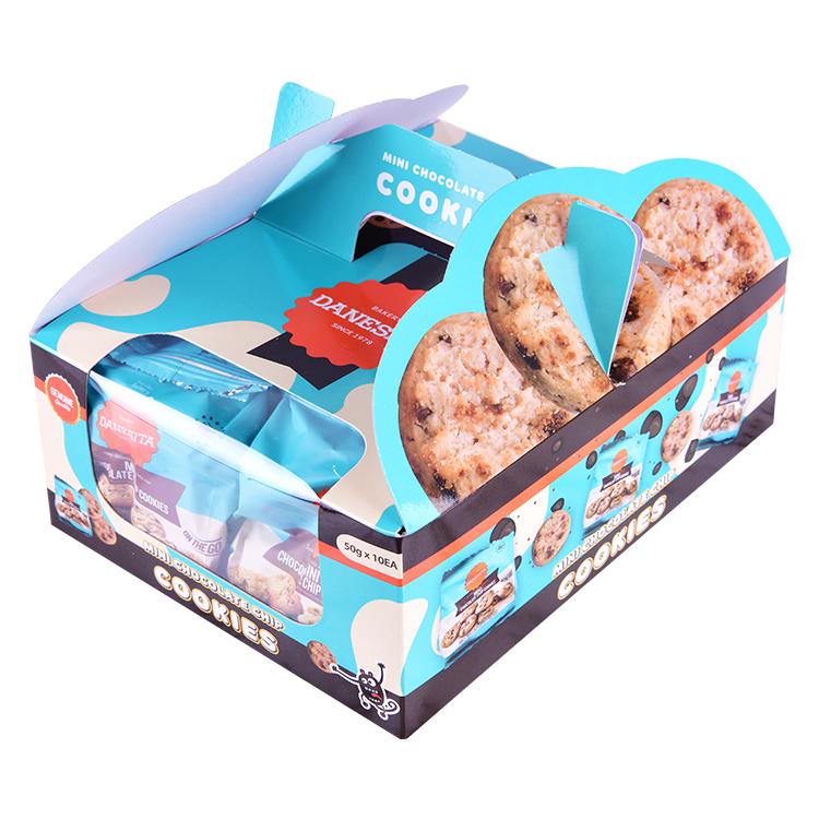 댄케이크 미니 초콜릿칩 쿠키, 50g, 10개