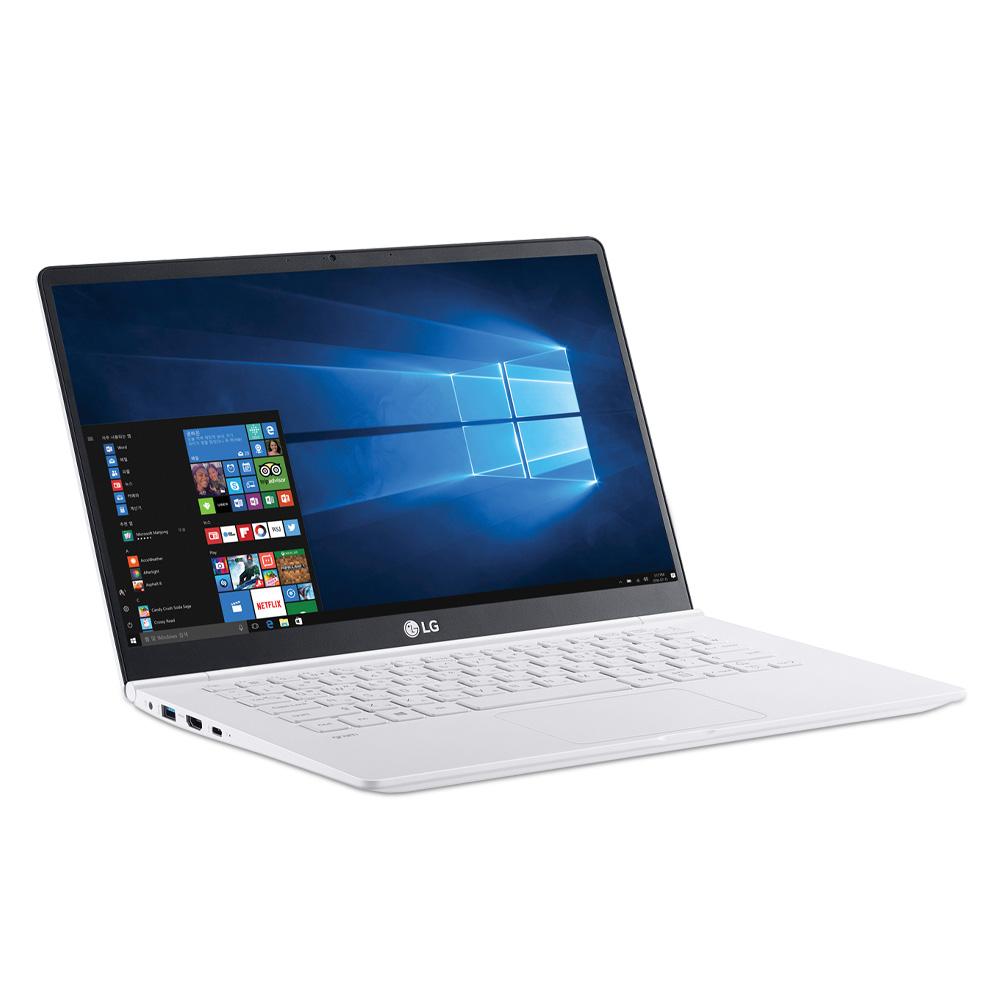 LG전자 그램14 노트북 스노우 화이트 14Z990-GR56K (i5-8265U 35.5cm WIN10 Home), 포함, NVMe 256GB, 8GB
