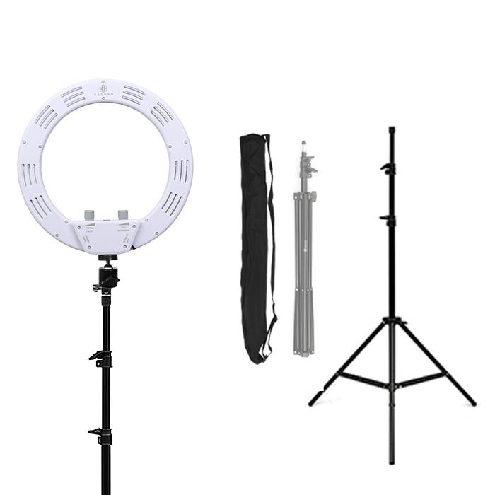 대한 LED 링라이트 개인방송 조명 260mm + 일반삼각대 ST-7020 + 삼각대 전용케이스 BAG-7020, DH-U250(화이트), 1세트