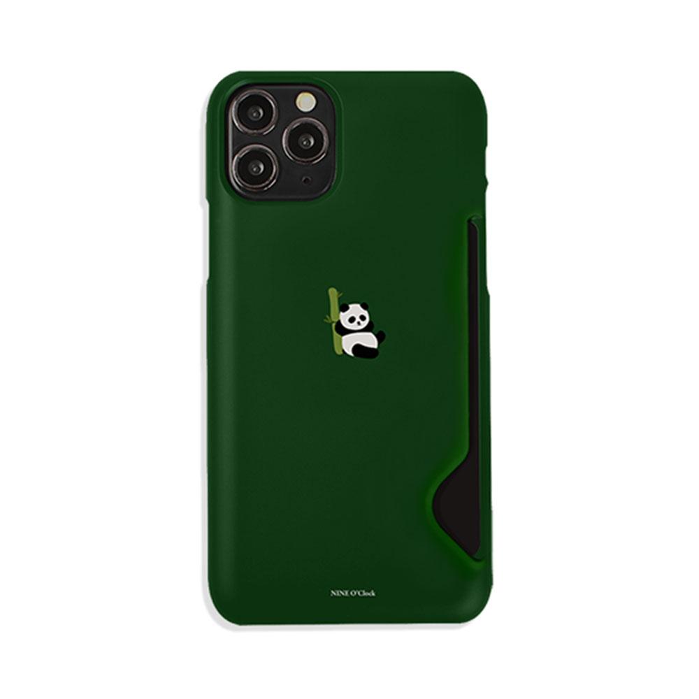 나인어클락 미니동물 카드 수납 슬림핏 하드 휴대폰 케이스 (POP 2233675962)