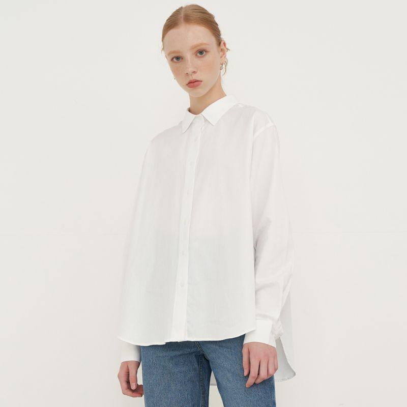 레이디볼륨 여성용 SOLID COLOR 셔츠