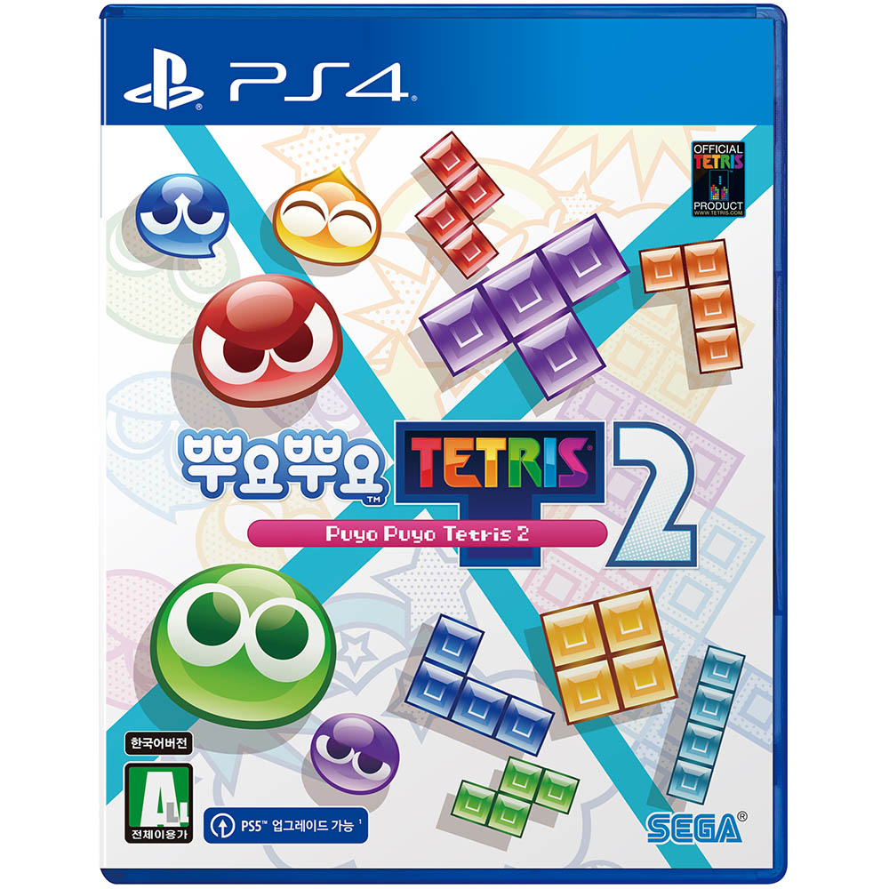 PS4 뿌요뿌요 테트리스 2 한글판, 단일상품