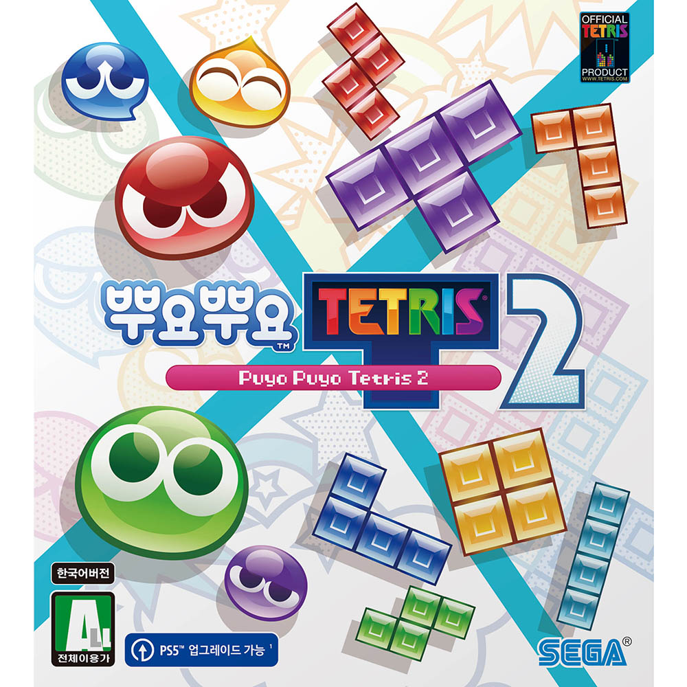 PS5 뿌요뿌요 테트리스 2 한글판, 단일상품