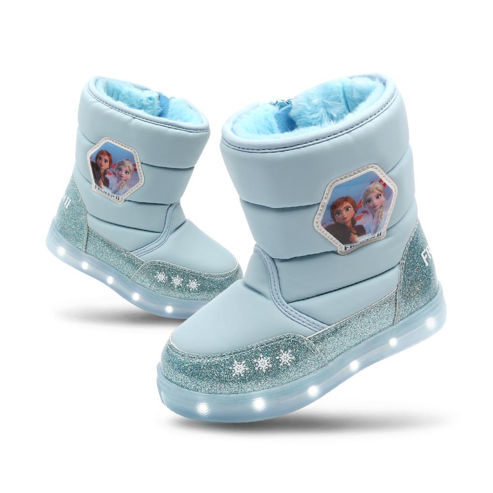 겨울왕국 2 아동용 모리 LED 부츠