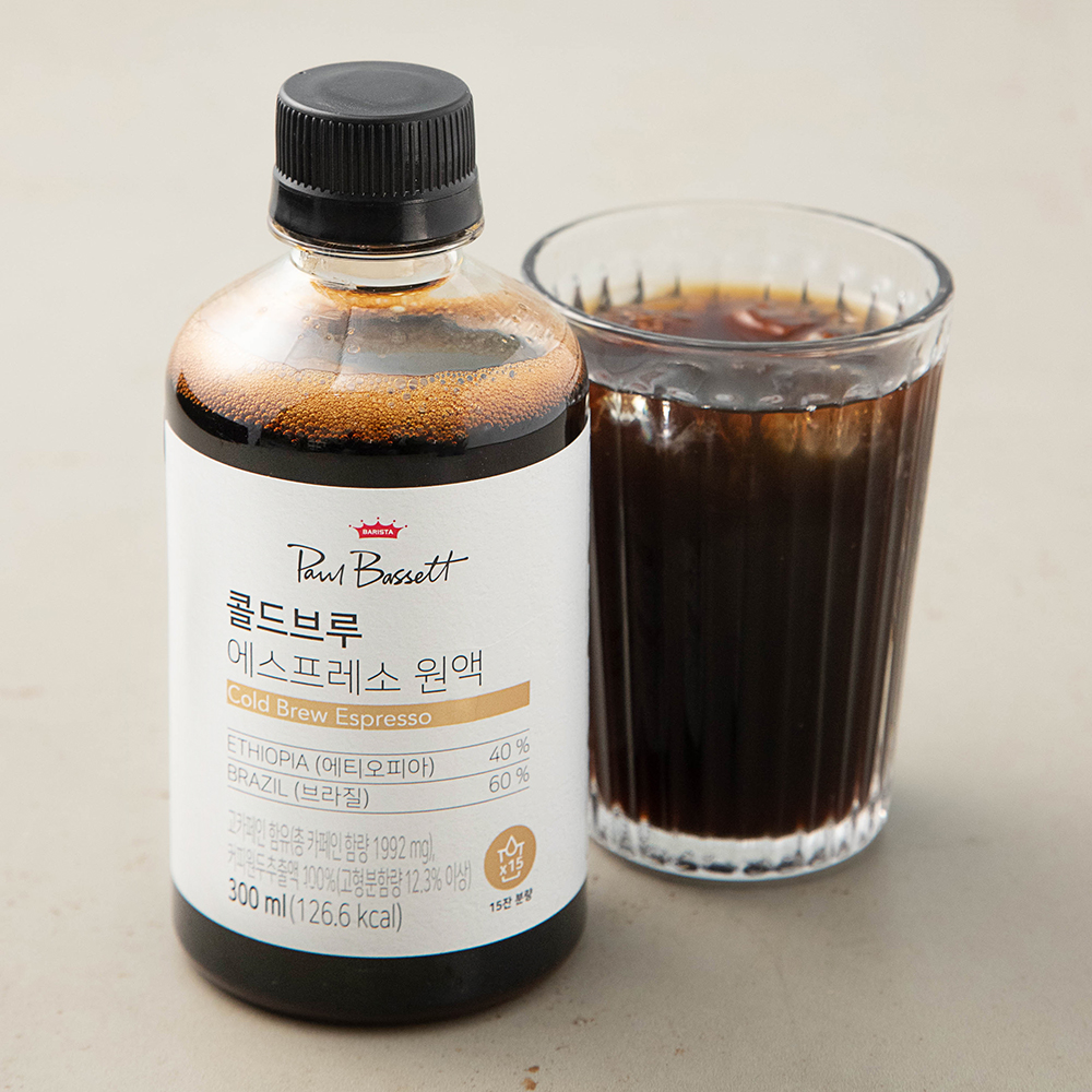 폴바셋 콜드브루 에스프레소 원액, 300ml, 1개