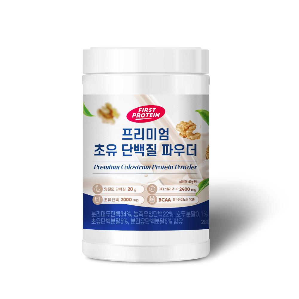 퍼스트프로틴 프리미엄 초유 단백질 파우더, 1개, 280g