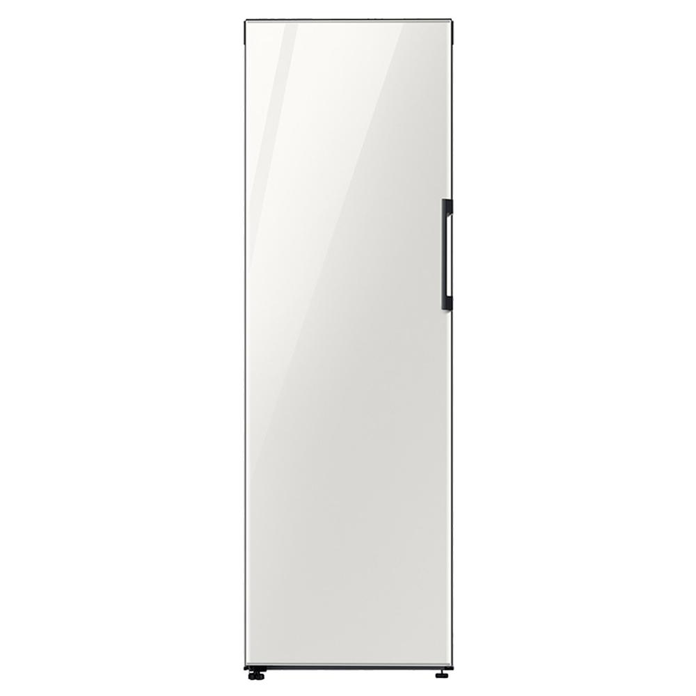삼성전자 BESPOKE 1도어 키친핏 일반냉동고 318L 글램화이트 방문설치, RZ32T760535