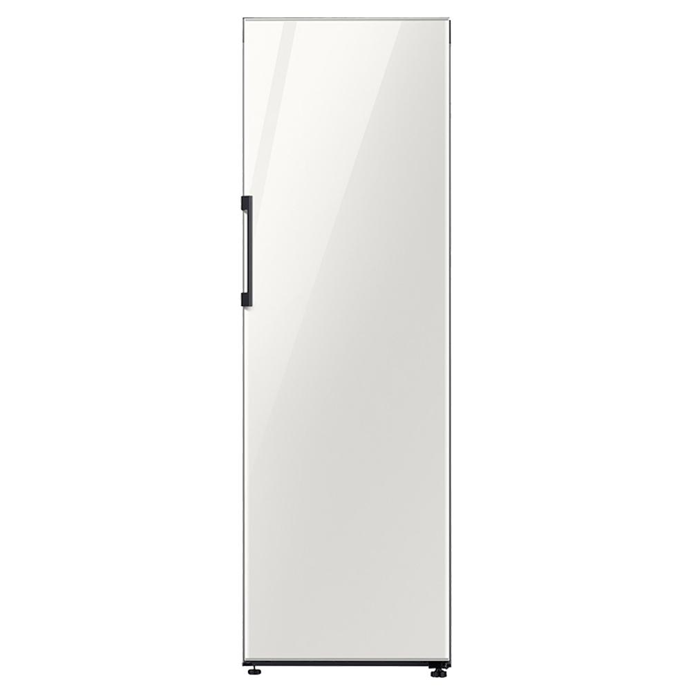 삼성전자 BESPOKE 1도어 키친핏 일반냉장고 380L 글램화이트 방문설치, RR39T760535