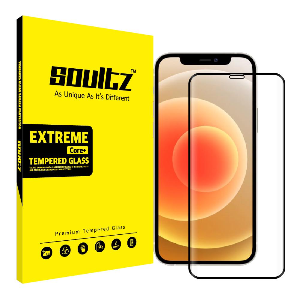 솔츠 풀커버 강화유리 방탄 휴대폰 액정보호필름세트, 1세트-11-2269101876