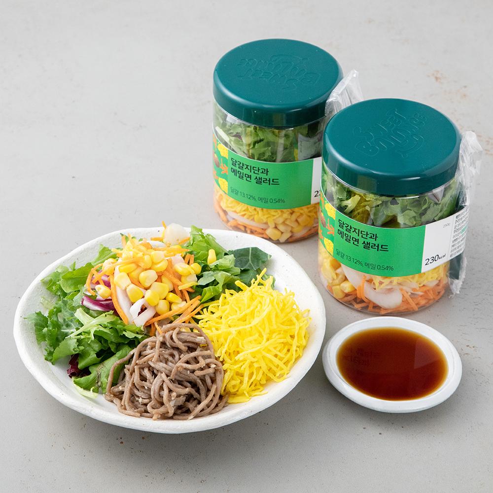 스윗밸런스 달걀지단과 메밀면 샐러드, 250g, 2개