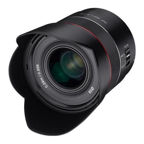 삼양옵틱스 소니 풀프레임 E마운트용 단렌즈 AF 35mm F1.8 FE