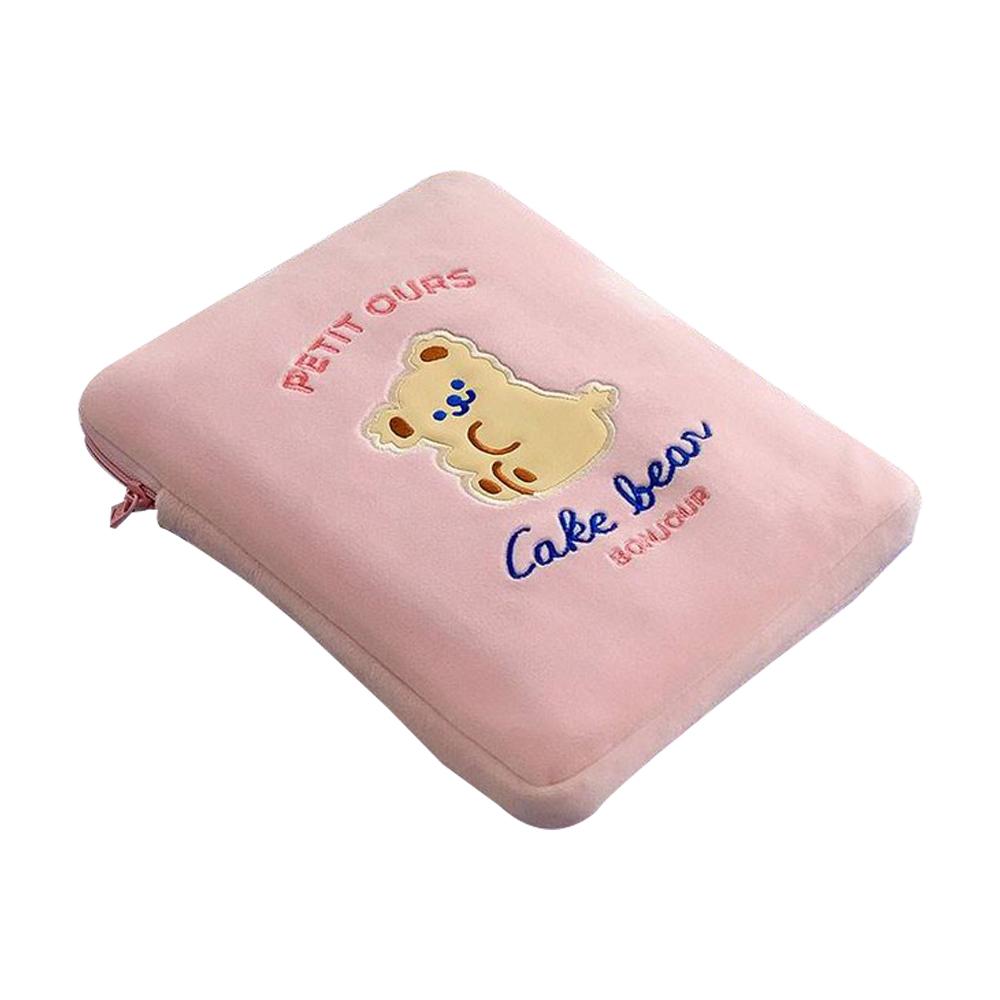 대니하우스 태블릿PC 파우치 케이크베어, 핑크
