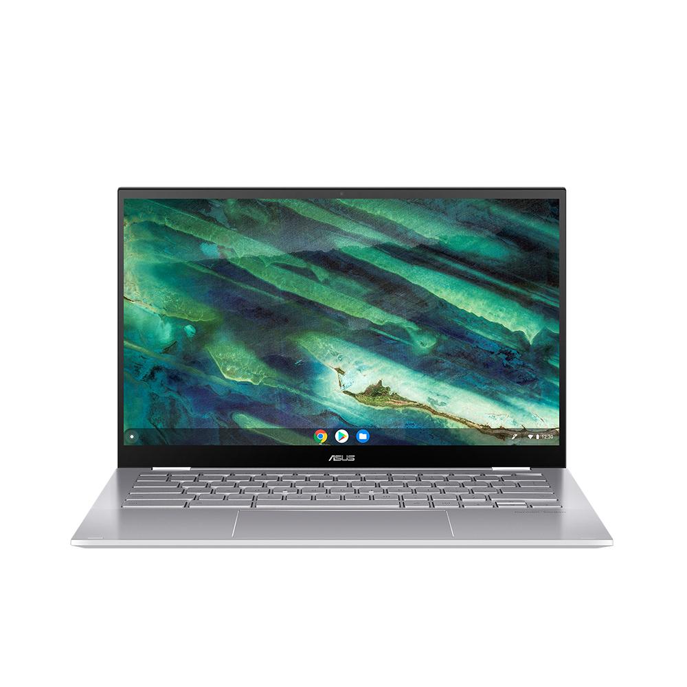 에이수스 구글 크롬북 실버 노트북 C436FA-E10225(i5-10210U 35.56cm Chrome), Chrome OS, 256GB, 8GB