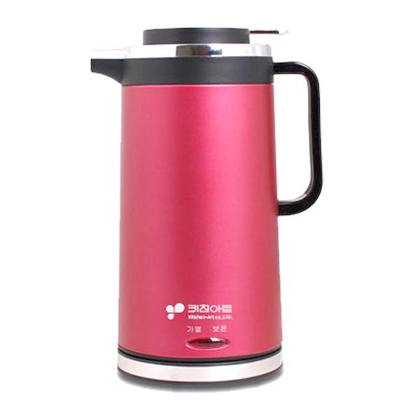 키친아트 무선 보온포트, KHT-1800R(와인)