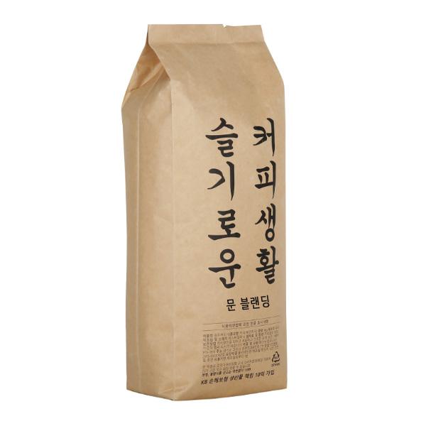 슬기로운 커피생활 문 블랜딩 원두, 홀빈, 1kg