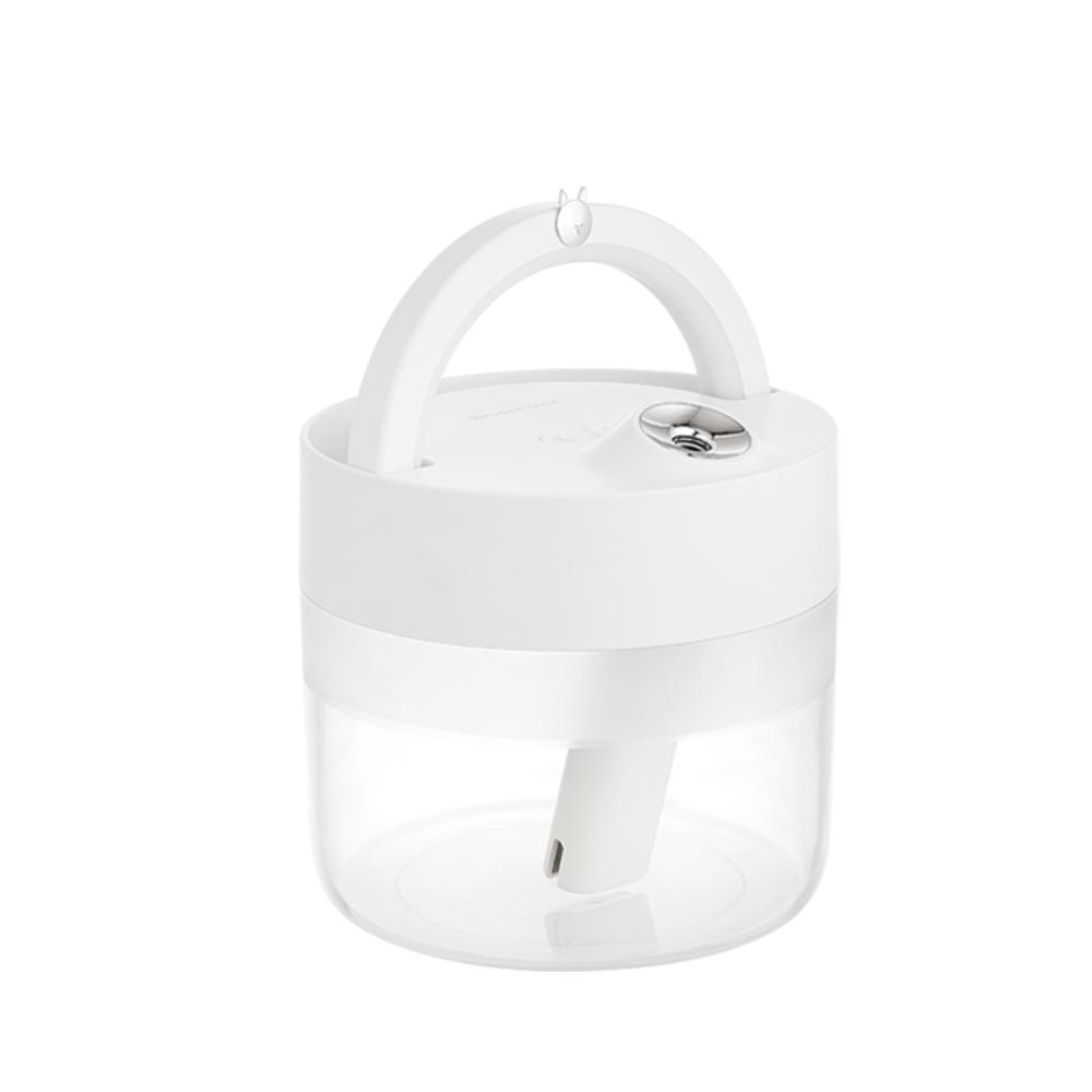 퓨어코치 무선 LED 무드등 미니가습기 1L, WHU100A(화이트)
