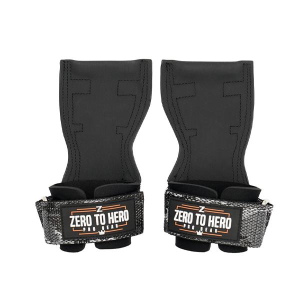 제로투히어로 프로 그립 헬스 손목보호대 일체형 BLACK CAMO, 1세트-19-2270488247