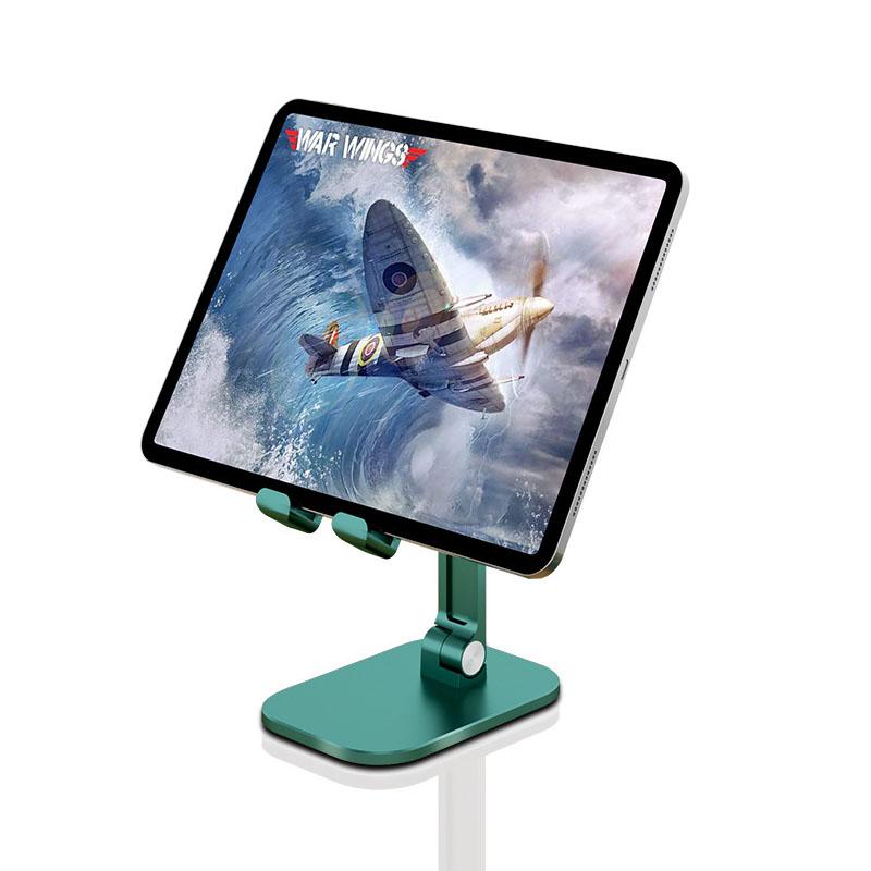모모튜브 프리미엄 멀티 접이식 휴대폰 태블릿PC 거치대, 그린, 1개