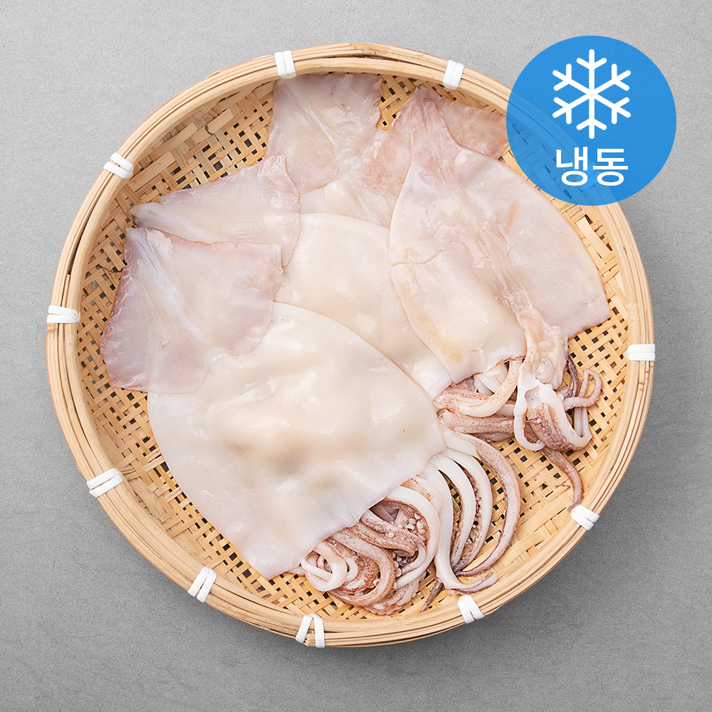 손질오징어 (냉동), 300g, 3개