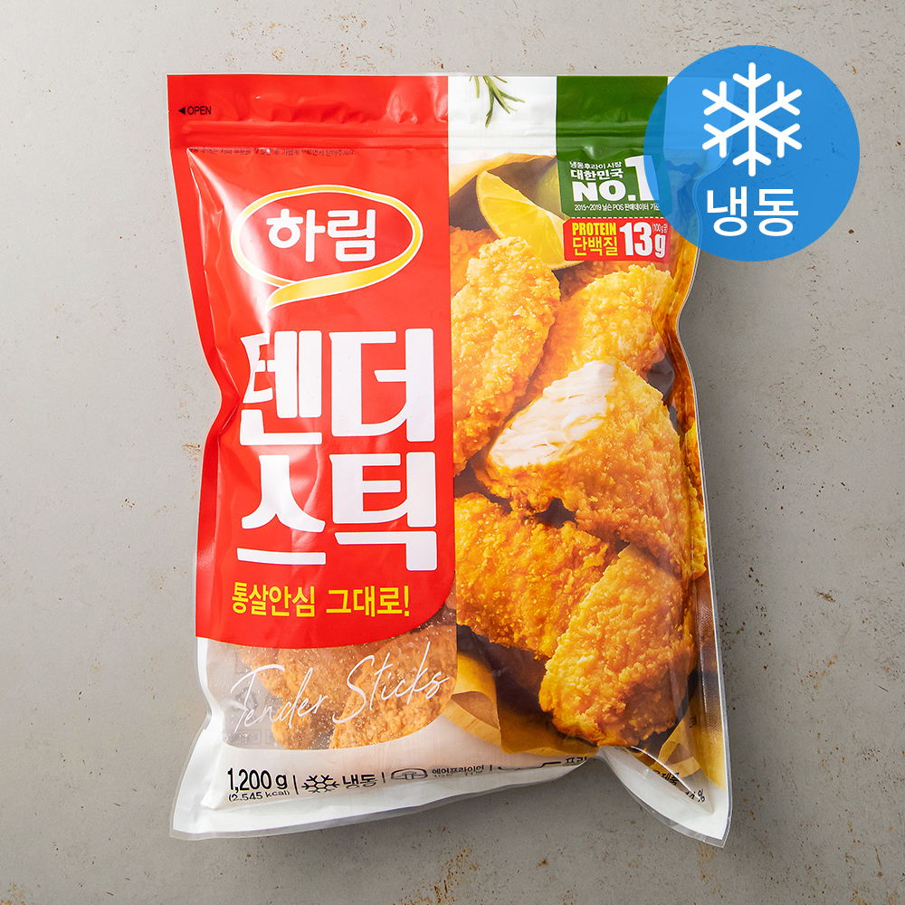 하림 텐더스틱 (냉동), 1200g, 1개