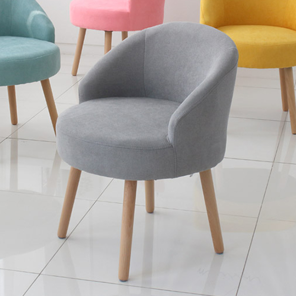 오에이데스크 인테리어 의자 OD184, 그레이