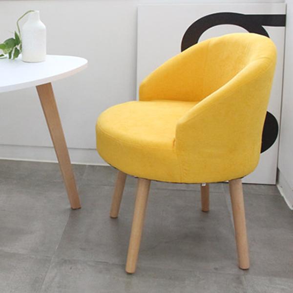 오에이데스크 인테리어 의자 OD185, 옐로우
