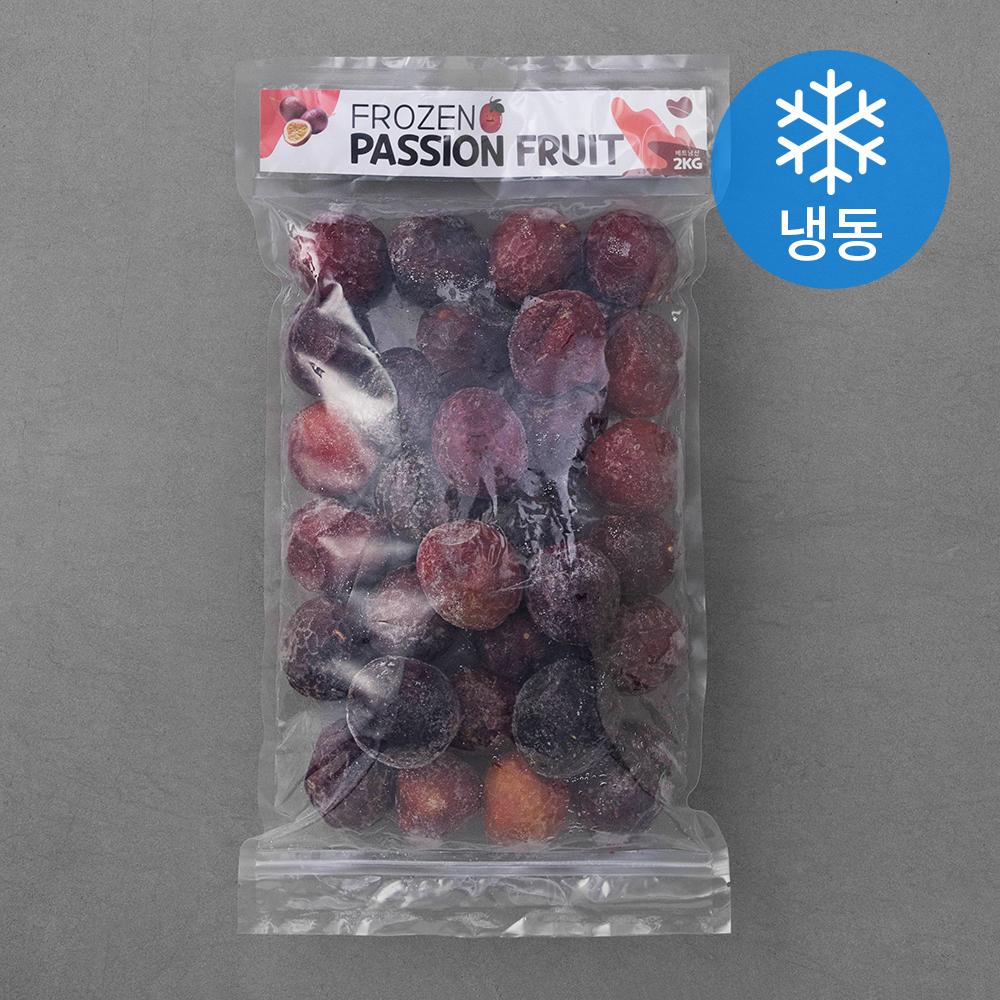 대구농산 베트남 패션후르츠 통 (냉동)  2kg  1개국산 패션후르츠 백향과 생과(특과) 1kg(11~15과)  1kg  1팩