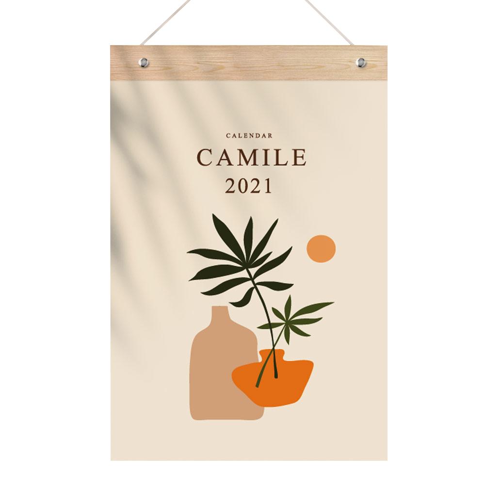 퍼니즈 2021년 작품 포스터 벽걸이 캘린더, 카밀레
