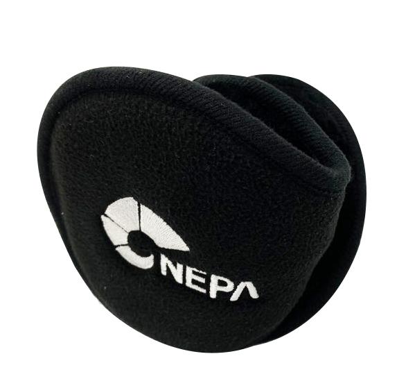 네파 세이프티 방한 폴더 귀마개, BLACK