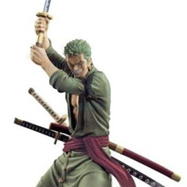 원피스 Swordsman Moment 1 롤로노아 조로 피규어, 1개