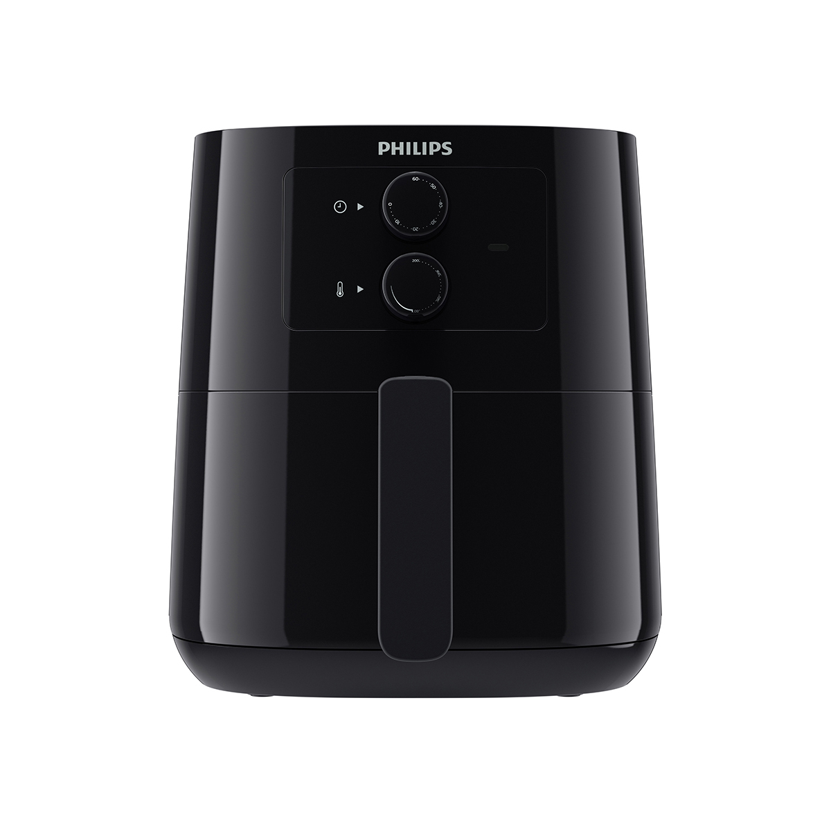 필립스 에센셜 에어프라이어 아날로그 컴팩트, HD9200/90, 블랙