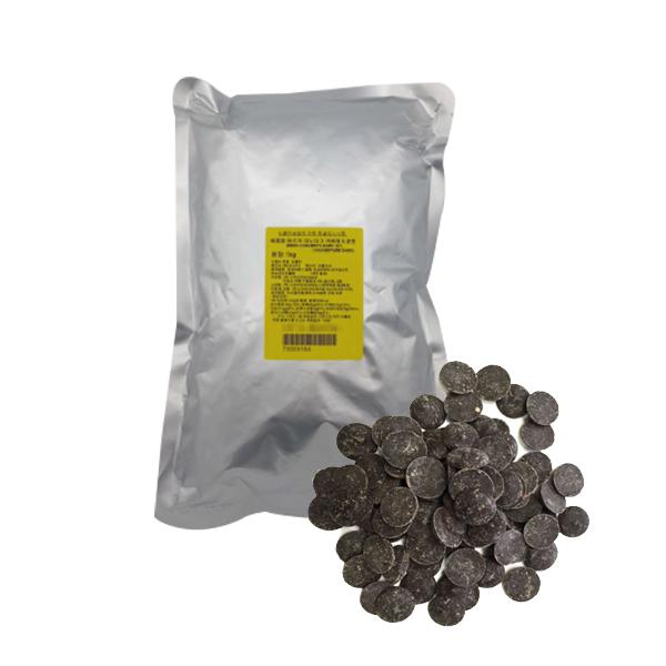 다하임 이르카 리노 다크 커버춰 초콜릿, 1개, 1kg
