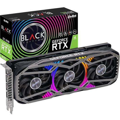 이엠텍 지포스 RTX 3070 BLACK Edition OC D6 8GB 그래픽카드