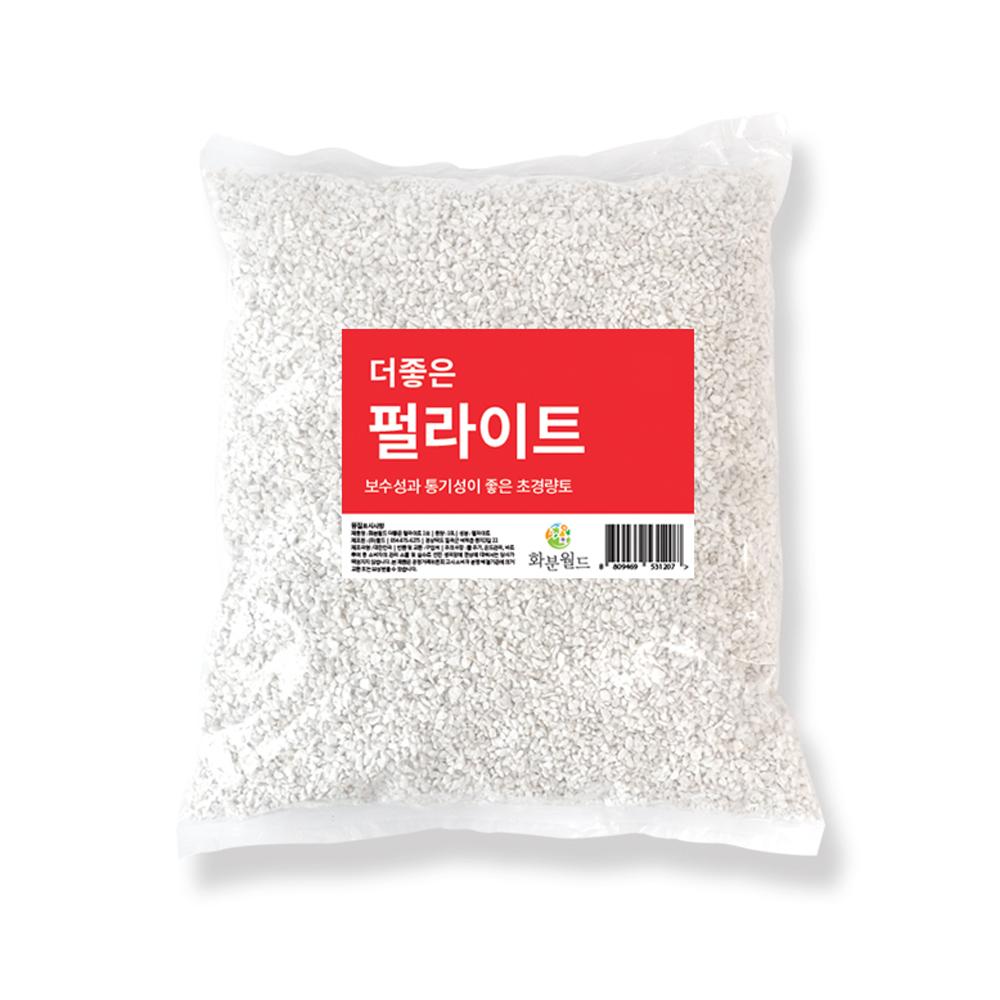 화분월드 더좋은 펄라이트 E 마사토 난석 자갈 1호 10L, 1개