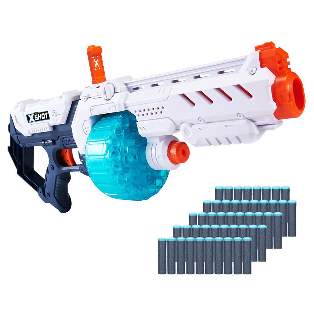엑스샷 엑셀 터보파이어 20연발 장난감 총, 혼합색상