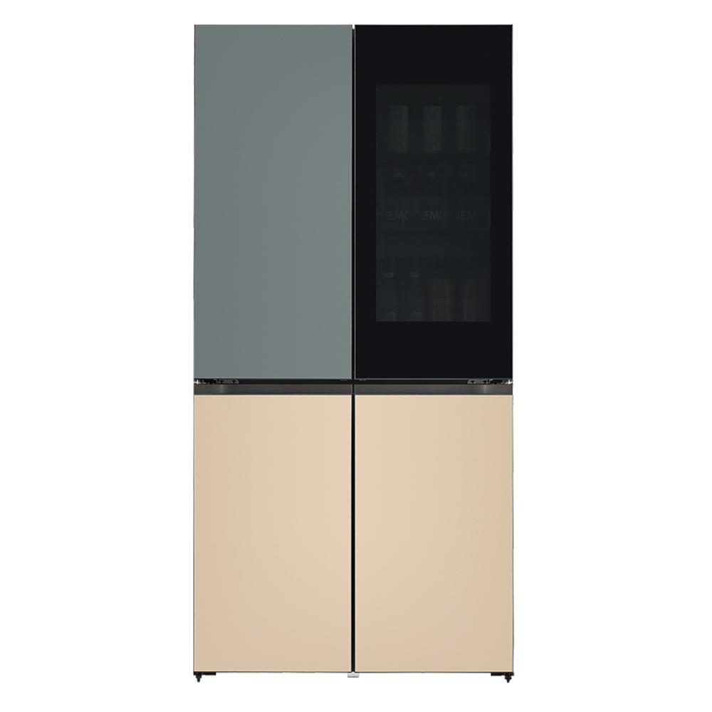 LG전자 LG오브제컬렉션 양문형 냉장고 보타닉 샌드 M620FBS351 613L 방문설치 (POP 2322524850)