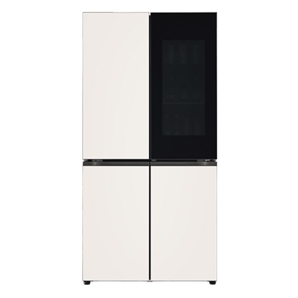 LG전자 LG오브제컬렉션 노크온 양문형 냉장고 베이지 M870GBB451 870L 방문설치 (POP 2322524832)