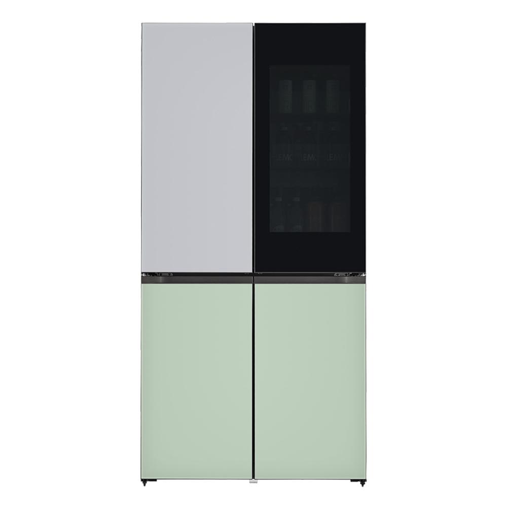 LG전자 [LG전자 LG오브제컬렉션 양문형 냉장고 613L 방문설치, M620GSM351 (POP 2322524920)